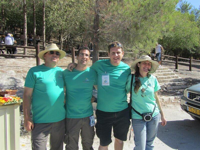 הפקת אירוע בטבע עם צוות החברה המאושר