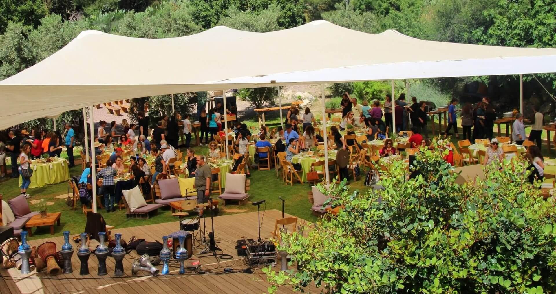 הפקת אירוע בשטח לחברות, מוסדות וארגונים שונים