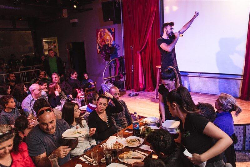 ערבי גיבוש לעובדים עם הופעה של אמן אורח